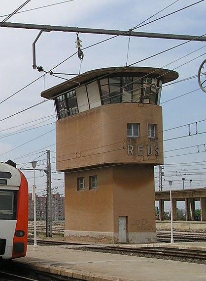 torre de control de l'estació de Reus