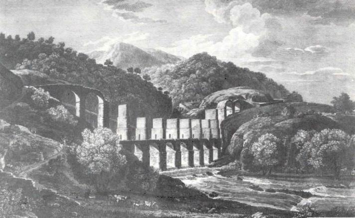 Gravat d'època en el moment de la construcció del Pont del Lledoner