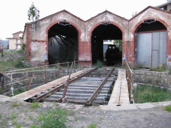 dipòsit de locomotores a vapor de Ripoll