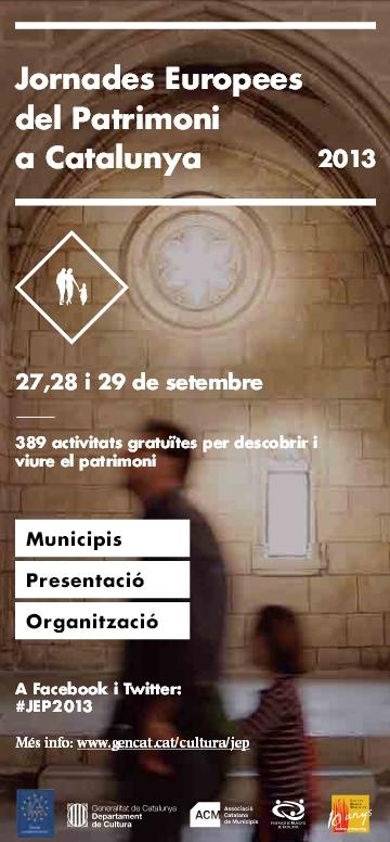 Jornades Europees del Patimoni a Catalunya